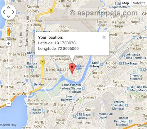 google maps geolocation api example