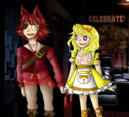 Foxy y chica five nights at freddys foxica by shoppet sky on
