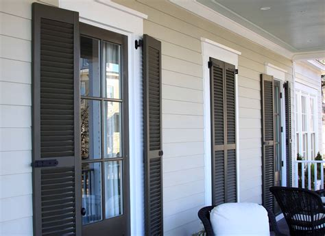 Door Shutters Exterior Exterior Shutters Acadian Custom Shutters