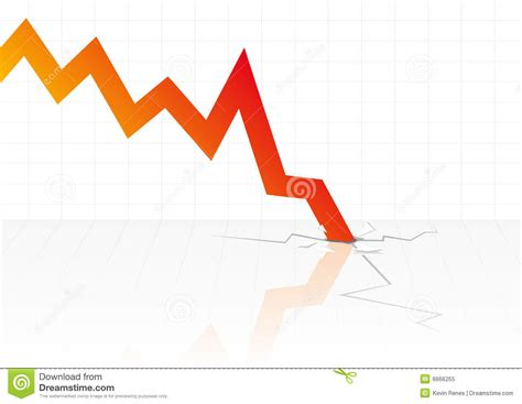 v stock images royalty free images vectors financial crisis vector royalty free stock photo image 6666255