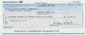 Certified Letter Bank America 30 phony documents used in nigerian 4 1 9 frauds and car buying scams