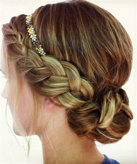 hairstyles with headband braids 20 pretty braided updo hairstyles popular haircuts