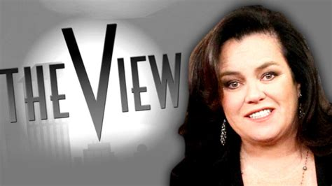 Rosie Odonnell Quit The View Early by Rosie O Donnell Quits The View For Second Time Bellenews