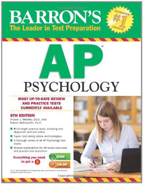 sterling test prep ap psychology complete content review for ap psychology books barron s ap psychology 6th edition desertcart
