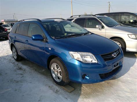 2010 Toyota Corolla For Sale 2010 Toyota Corolla Fielder For Sale 1 5 Gasoline Ff