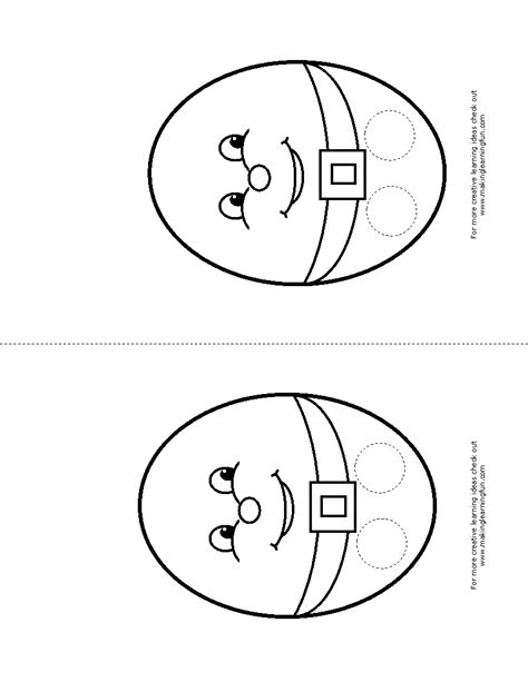 humpty dumpty puzzle template free coloring pages of nursery rhyme bingo