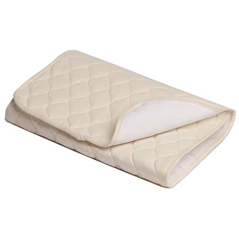 Quilted Crib Mattress Pad Abc Organic Quilted Mattress Pad 14283401 Overstock Shopping Big Discounts On American