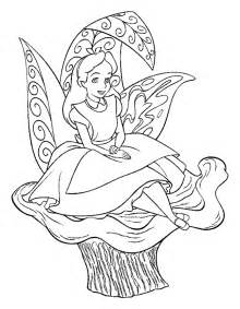coloring pages online alice in wonderland coloring pages