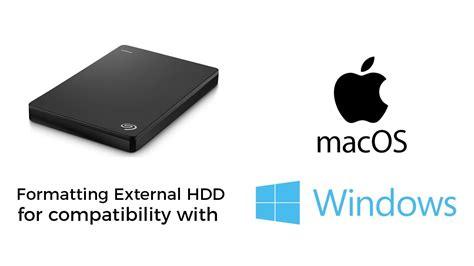 format external hard drive mac could not unmount disk format an external hard drive for use with mac windows