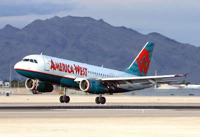 plane america west airlines