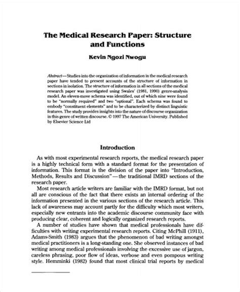 22 Research Paper Templates In Pdf Free Premium Templates Research Paper Template