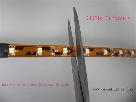 cutting led lights how to cut led light www okledlights okledlights