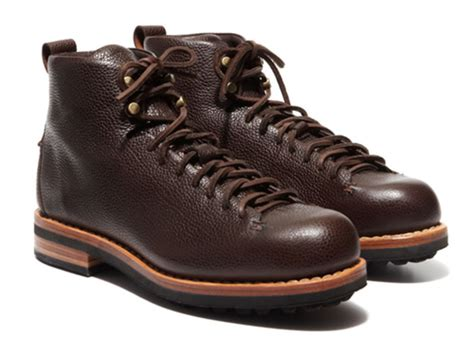 Handmade Leather Hiking Boots - feit for park bond acquire