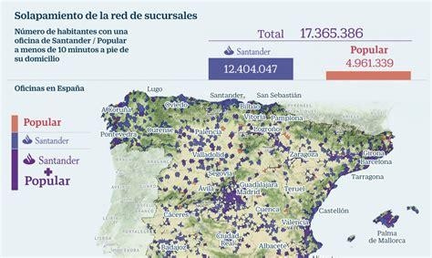 banco popular valencia oficinas 191 c 243 mo casan las redes de oficinas de santander y popular