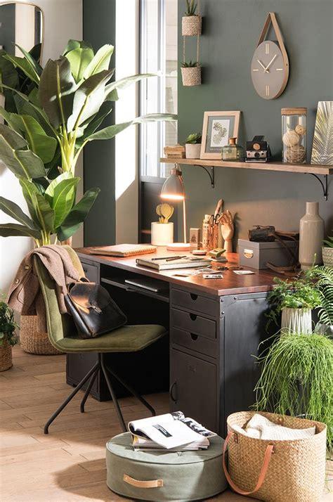 decoration de bureau maison tendance d 233 co garden bureau des plantes maisons
