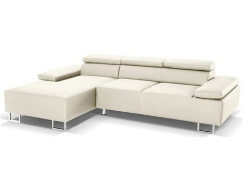 canape angle italien canap 233 d angle cuir luxe italien ivoire angle gauche
