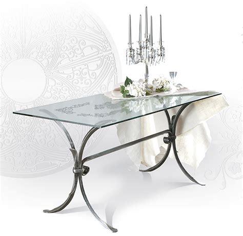 tavoli in ferro battuto e vetro tavolo da interni giotto tavoli ferro battuto