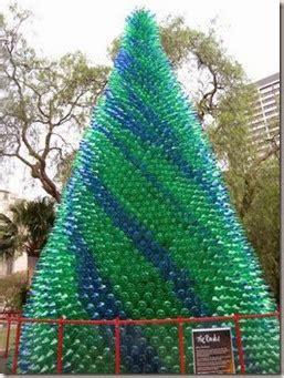 cara membuat pohon natal daur ulang mengaku backpacker tree cycle 10 kreasi pohon natal daur