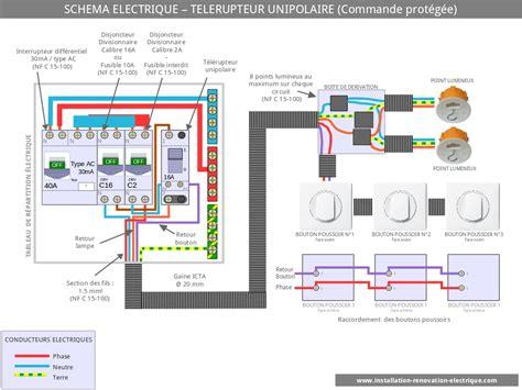 Combien De Prise Par Disjoncteur 5457 by Le Sch 233 Ma 233 Lectrique Du T 233 L 233 Rupteur Unipolaire