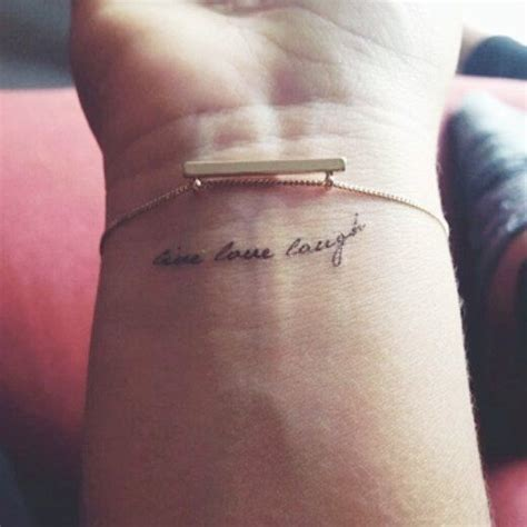 small phrases for tattoos best 25 small quote tattoos ideas on tatto