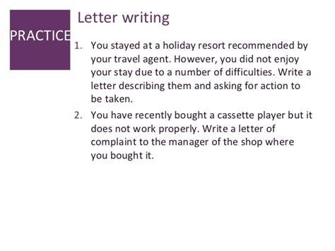 Complaint Letter Travel Company Letter Of Complaint