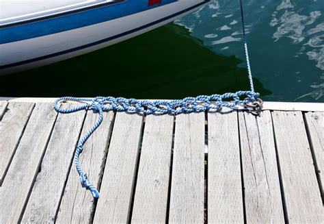 knots on a boat knots in a boat rope stock image image of nautical
