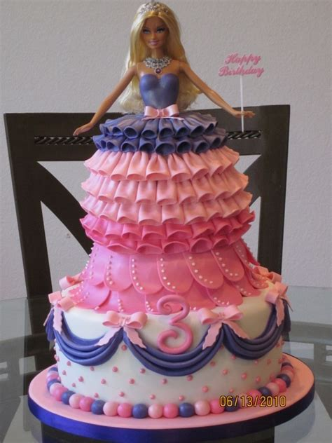 dont  barbie cakes