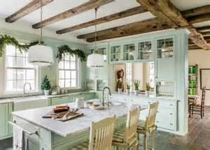 Fashioned Kitchen Design Farmhouse Kitchens With Charm Function Knick Of Time
