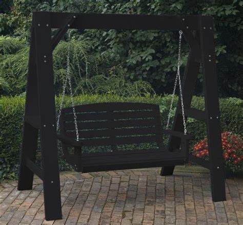 how to build an a frame swing stand a frame swing stand diy pinterest