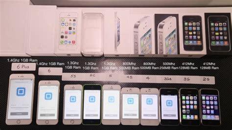 all iphone generations in retrospect incremental changes slashgear