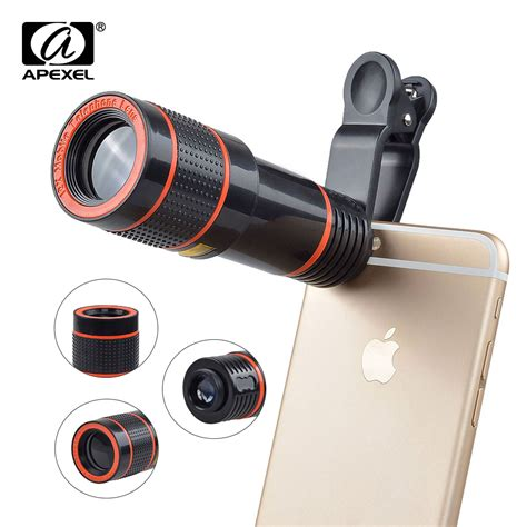 Mobile Telephonetelezoom Lens 12x Tripod Dan Holder 12x zoom phone lens universal telephoto lens with tripod holder for iphone samsung xiaomi