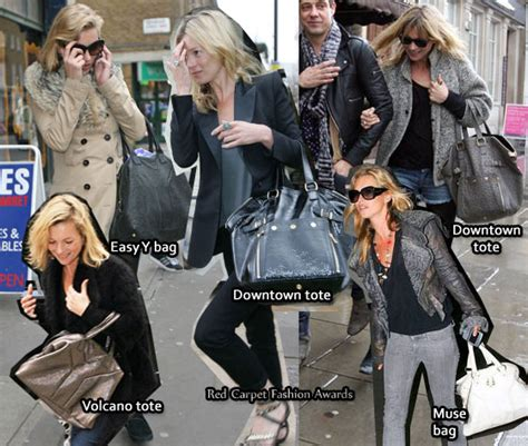 Kate Moss Ysl Downtown Tote by Kate Moss Obsession Ysl Bags Carpet Fashion Awards