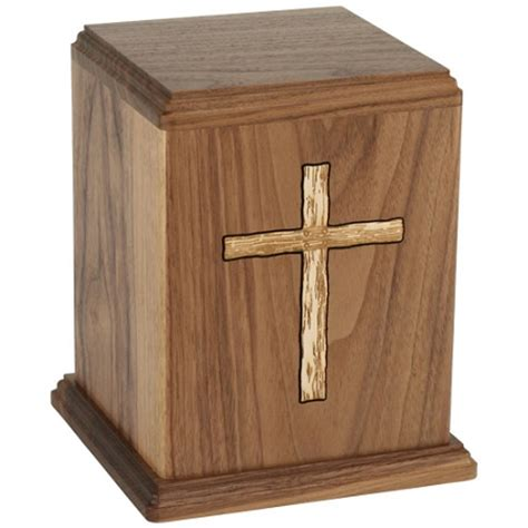 urns for ashes cross walnut urn for ashes