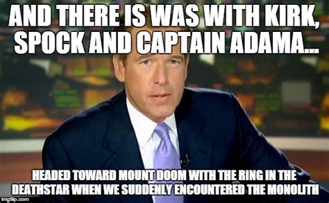 Battlestar Galactica Meme - quot how i started science fiction quot by brian williams imgflip