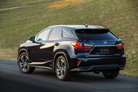 Lexus Jeep All New 2016 Lexus Rx Breaks Cover In New York W