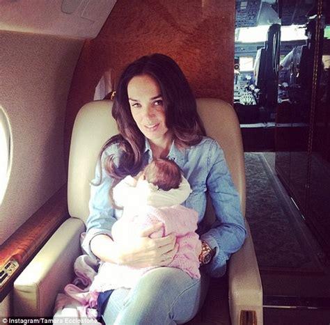 tamara ecclestone shares family snaps of baby daughter tamara ecclestone and jay rutland document baby sophia s