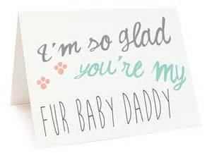 printable card fathers day card fur baby