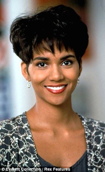 hype hair 2011 natural trendsetters hair icon halle berry s transforming tresses
