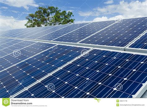 solar panel installation royalty free stock images image
