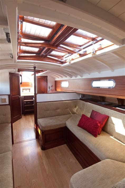 fairlie 55 interior from classic boat magazine article