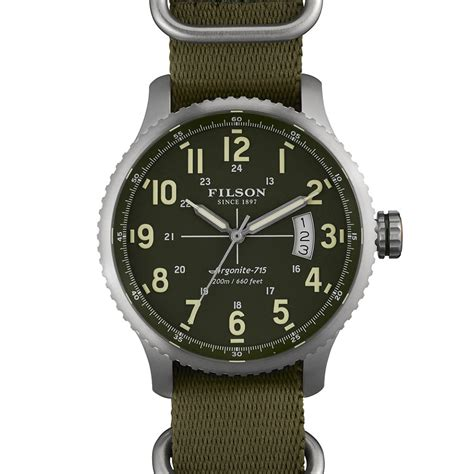 Handmade Watches Detroit - filson x shinola watches the awesomer