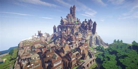 city town minecraft building