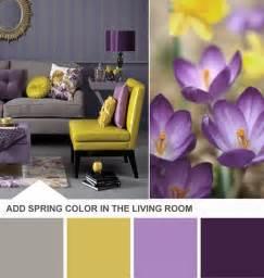 Bedroom Decorating Ideas Purple And Yellow Un Sal 243 N En Morado Y Amarillo Dec 243 Ralos