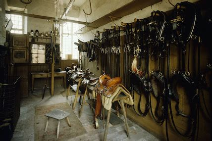 saddle room the saddle room in the stables at calke calke at national trust
