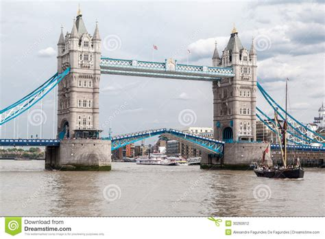 thames river tidal gates tower bridge in london editorial photography image of
