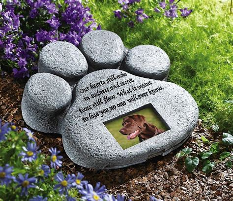 memorial stones for dogs memorial stones for pets and other unique ways to remember your lost pet my ate my