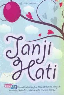Teenlit Janji Hati Soft Cover Cover Oleh Elvira Natali koleksi buku bukukita janji hati