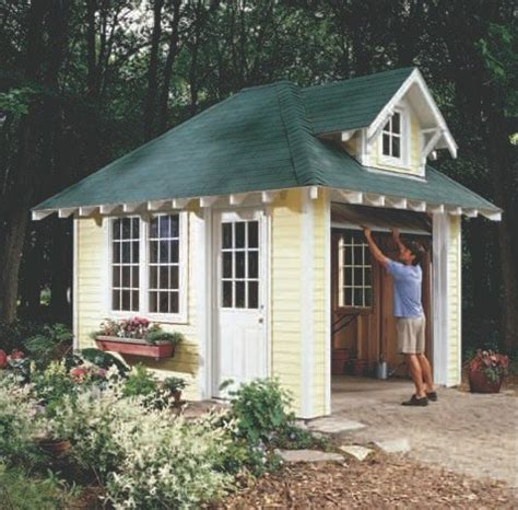Cottage Shed Plans by Kelana Easy To Build Storage Shed Plans Learn How