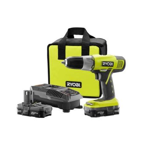 ryobi one 18 volt 1 2 in cordless lithium ion drill