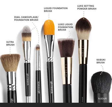 best brush best foundation brushes for mineral makeup glo minerals ukglo minerals uk
